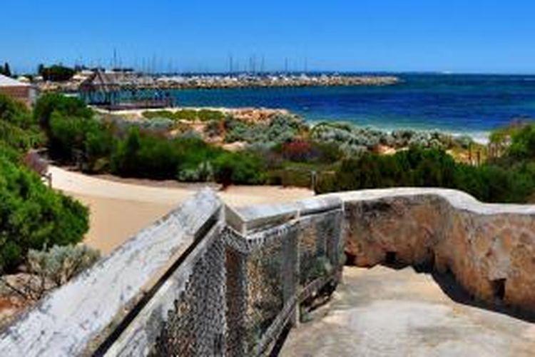 Pemandangan dari Fremantle, Perth, Australia.