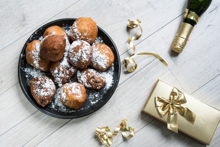 Oliebollen, kue tahun baru di Belanda