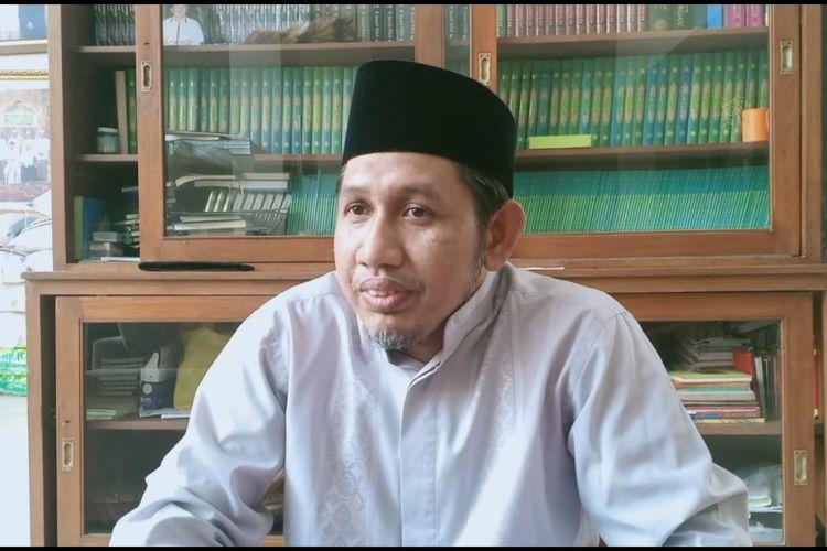 Ketua Yayasan panti Asuhan Yatim Daarul Rahman, Ahmad Saiful Habib, saat ditemui di kawasan Pejaten Barat, Jakarta Selatan, Rabu, (19/2/2020).