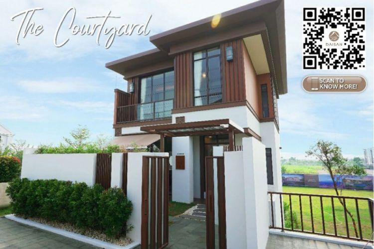 The Courtyard merupakan salah satu tipe rumah favorit di Daisan.