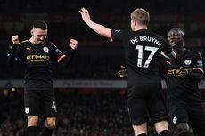 Hasil Liga Inggris, Man United Imbang, Man City Menang