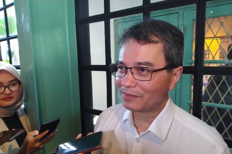 Prof. dr. Badriul Hegar, Ph.D, Sp.A (K), peneliti dari Fakultas Kedokteran Universitas Indonesia dan dokter spesialis anak konsultan Gastrohepatologi dalam acara Bicara Gizi: Peranan Serat untuk Dukung Kesehatan Pencernaan Anak di Jakarta, Rabu (04/03/2020).