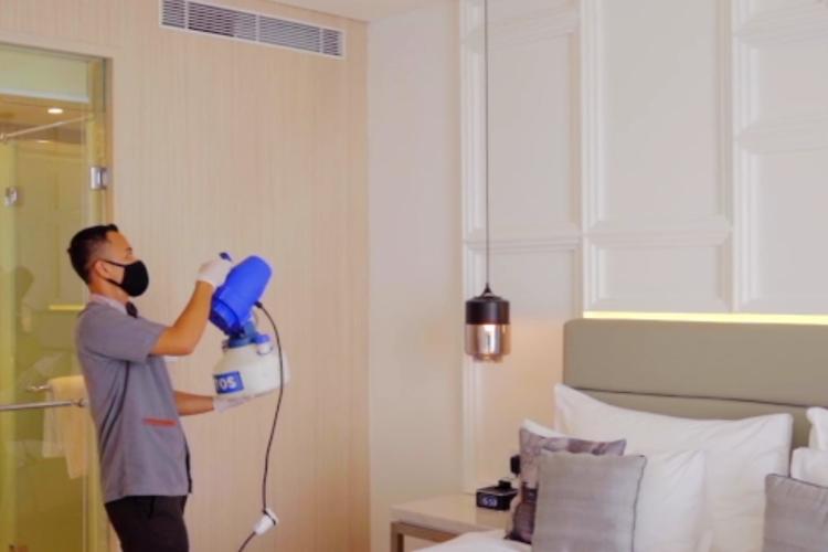 Tauzia Hotels Management menerapkan protkol kesehatan Ascott Cares