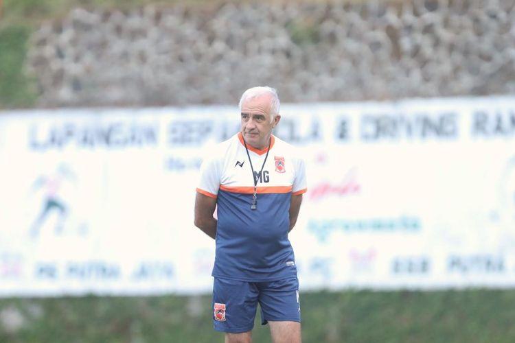 Mario Gomez, pelatih Borneo FC.