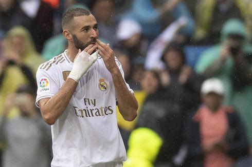 Real Madrid Vs Real Sociedad, Rekor Apik Karim Benzema