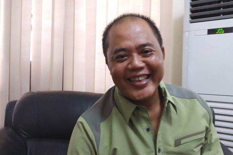 Bupati Karanganyar, Juliyatmono di rumah dinasnya Karanganyar, Jawa Tengah, Jumat (6/12/2019).