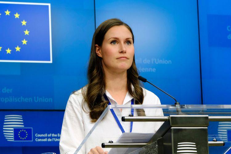 Perdana Menteri Finlandia, Sanna Marin merupakan pemimpin termuda di dunia.