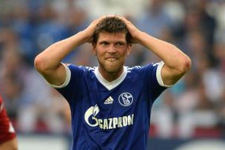 Striker Schalke 04, Klaas-Jan Huntelaar.