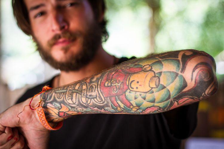 Ilustrasi tattoo