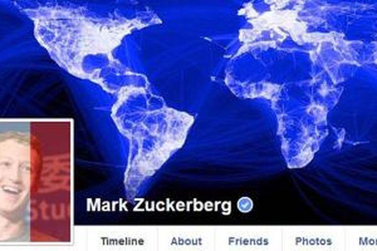 Mark Zuckerberg menambah foto profilnya dengan bendera Perancis sebagai bentuk empati terhadap insiden di Paris yang terjadi pada 13 November 2015.