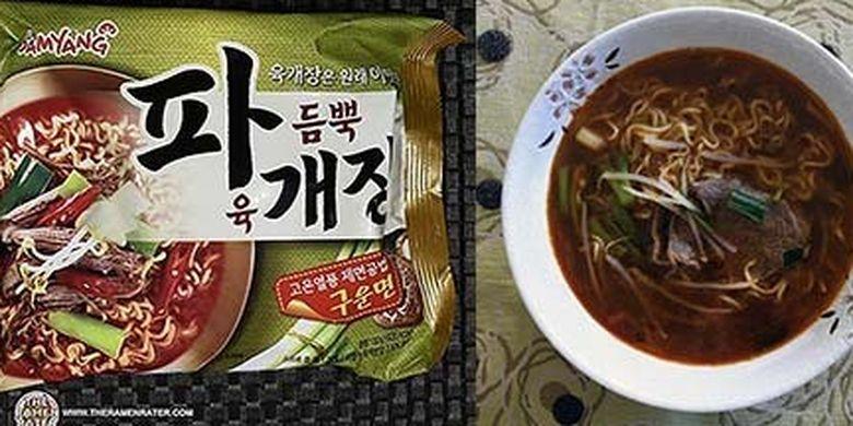 Samyang Foods Paegaejang Ramen
