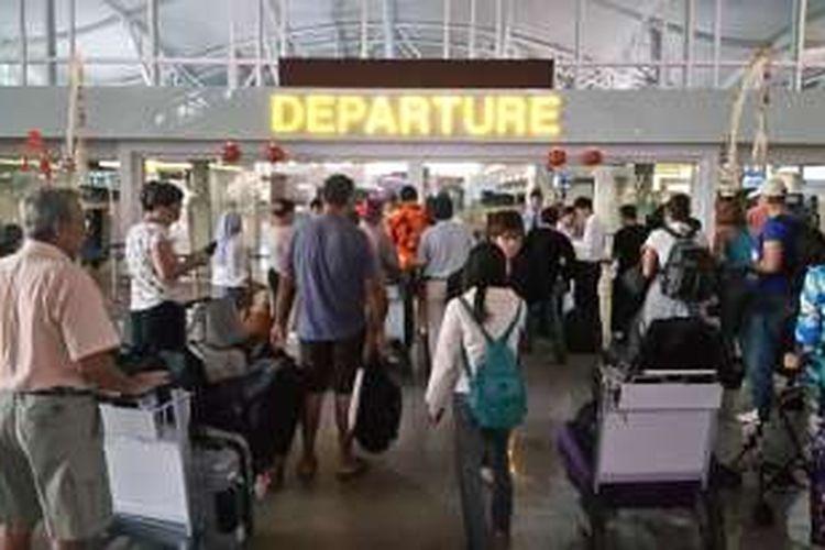 Terminal Internasional Bandara Ngurah Rai.