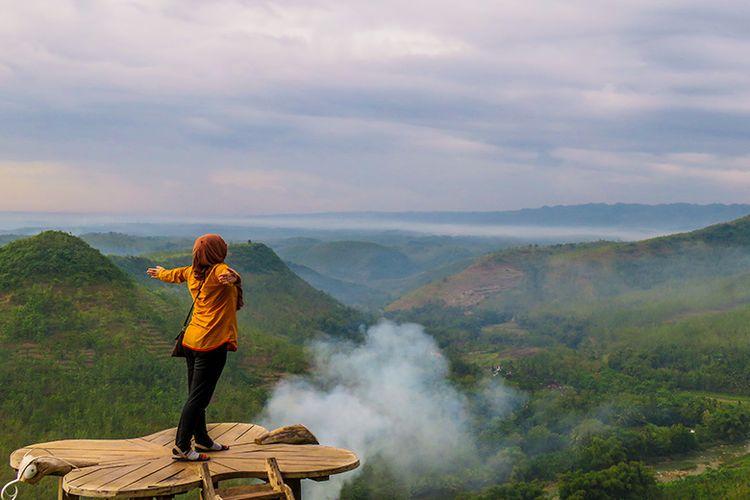 Spot foto di Bukit Panguk Kediwung, Bantul.