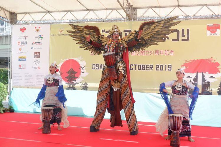 Indonesia-Japan Fiesta 2019 akan berlangsung pada 5-6 Oktober dan memamerkan beragam produk ekonomi kreatif, serta pertunjukan kolaborasi antara seni budaya Indonesia dan Jepang.