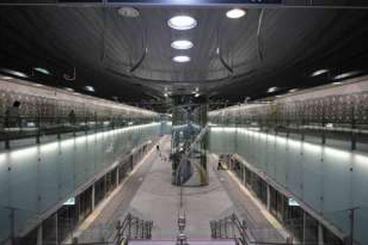 Stasiun MRT Dingpu China