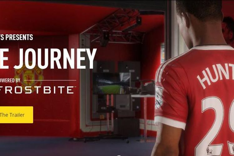 Anda bakal berperan sebagai Alex Hunter di mode cerita FIFA 17