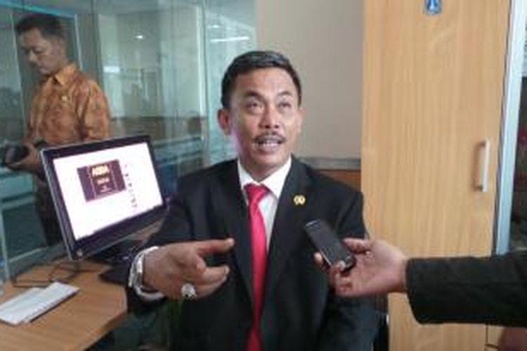 Wakil Ketua DPD PDI-P DKI Jakarta yng juga Ketua DPRD DKI Jakarta Prasetyo Edi Marsudi