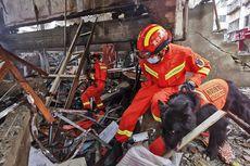 Update: Korban Ledakan Besar Pipa Gas di China Meningkat 25 Orang Tewas