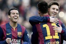 Messi dan Neymar Paling Rajin Giring Bola di La Liga