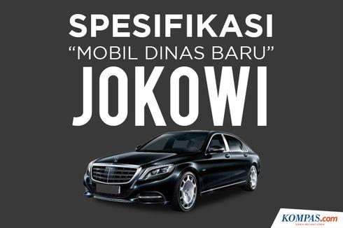 INFOGRAFIK: Spesifikasi Mobil Dinas Baru Jokowi, Mercedes Benz S600 Guard