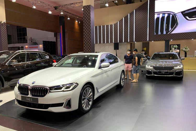 Booth BMW di IIMS Hybrid 2021