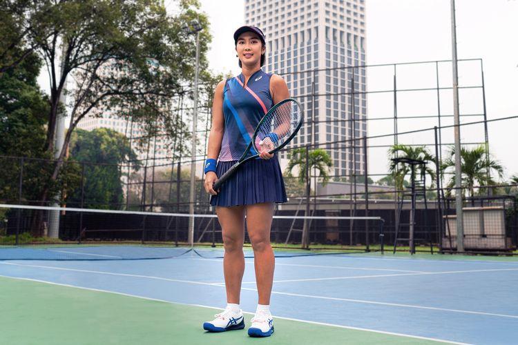 Aldila Sutjiadi, Atlet ASICS Olahraga Tenis Indonesia