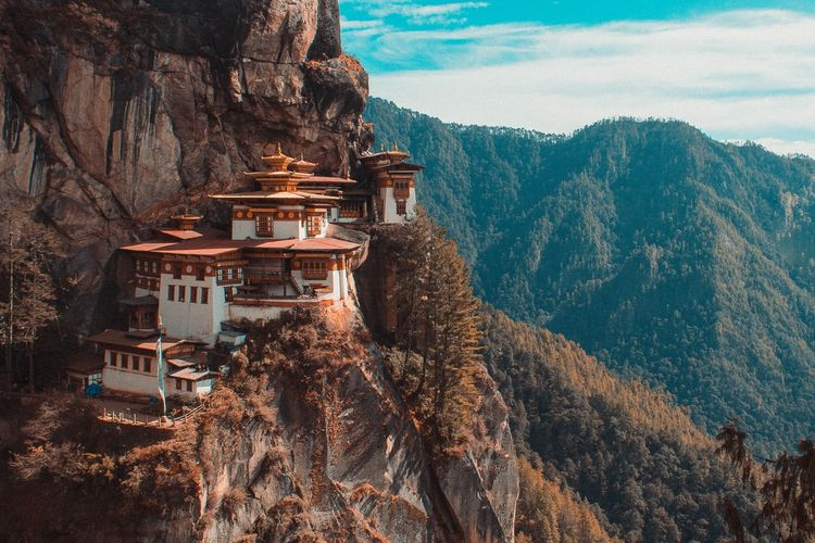 The Tiger's Nest di Bhutan