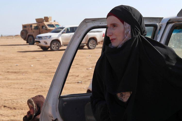 Leonora (19), datang ke Suriah empat tahun lalu untuk tinggal di wilayah kekuasaan ISIS. Kini dia berharap bisa pulang ke kampung halamannya, Jerman.