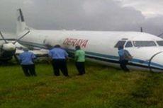 Pesawat Kargo Kecelakaan di Bandara Wamena