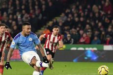 Sheffield United Vs Man City, Guardiola Maklum Jesus Gagal Penalti