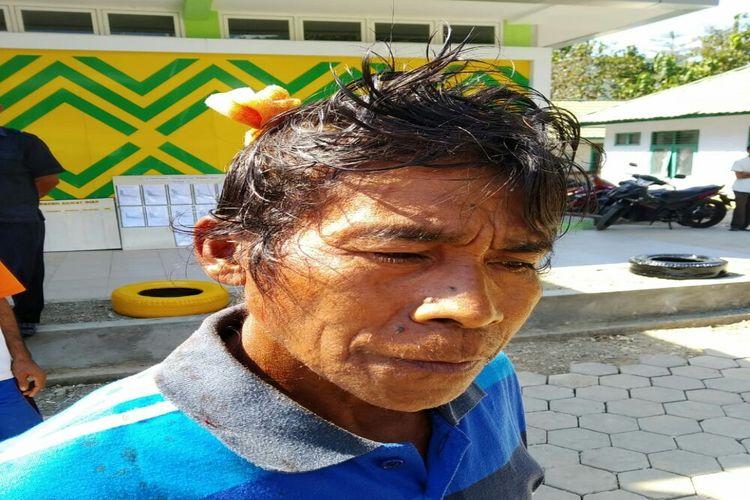 Kondisi warga yang terluka setelah terlibat bentrokan antar kelompok dua desa di Bima pada Rabu (26/6/2019)