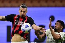 Hasil Milan Vs Roma, Rekor Kemenangan Rossoneri Terhenti