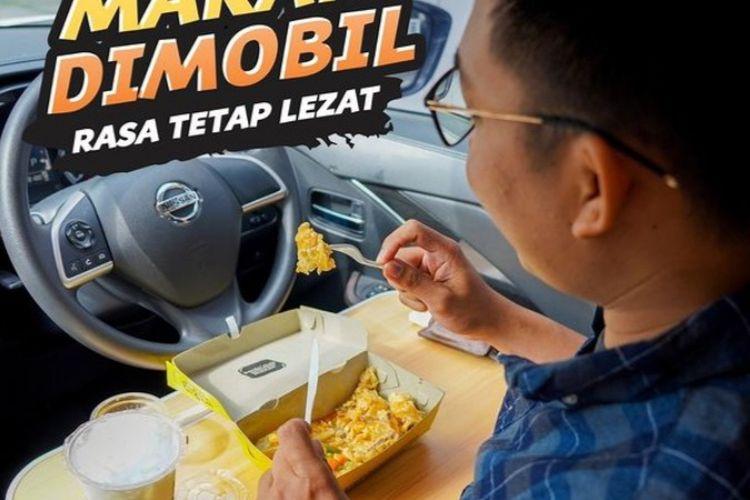 layanan dine in your car Waroeng Steak & Shake. (Tangkapan LayarWaroeng Steak & Shake)