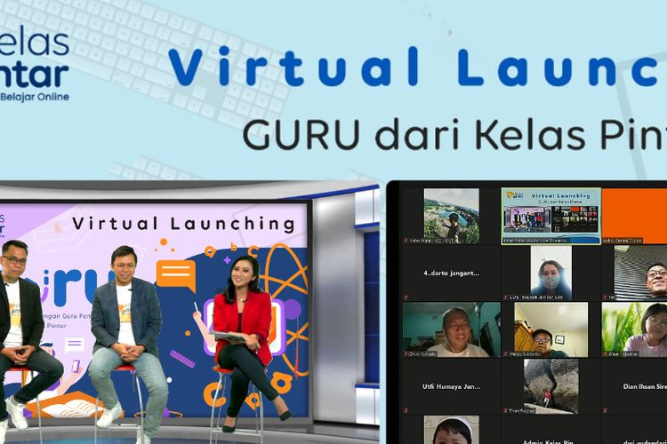 Launching produk Guru, layanan dari Kelas Pintar.