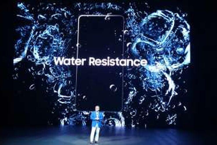 Galaxy Note 7 kini memiliki fitur anti air dengan sertifikasi IP 68