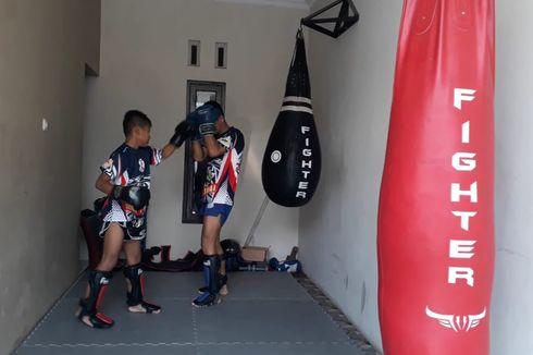 Nasib Atlet Muaythai Tasikmalaya yang Berprestasi, Tempat Latihan Rebutan dengan Dekorasi Pernikahan