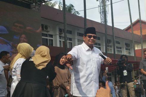 Satu Panggung dengan Nissa Sabyan, Prabowo Sempat Unjuk Kegemarannya Berjoget