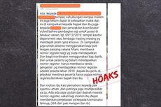 [HOAKS] Informasi Pengangkatan CPNS Mencatut Menteri PANRB