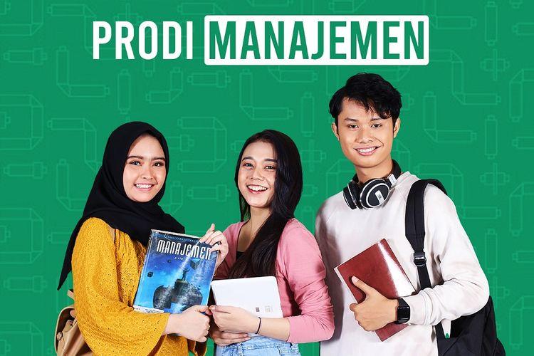 Potret mahasiswa Program Studi (Prodi) Manajemen Universitas Bina Sarana Informatika (BSI).