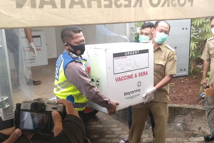 Sebanyak 3.380 dosis vaksin untuk tenaga kesehatan di Kota Serang