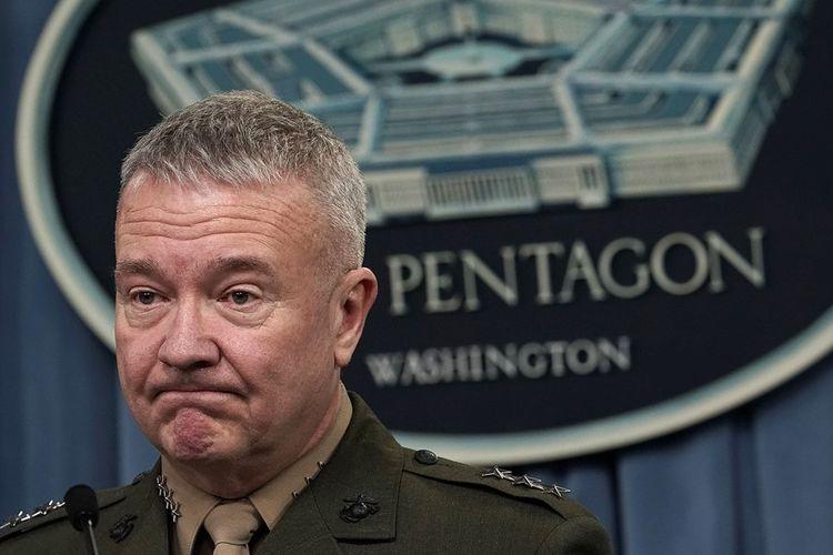 Direktur Staf Gabungan Militer AS Jenderal Kenneth McKenzie. Pentagon meyakini rezim Suriah masih menyimpan sejumlah kecil senjata kimia.