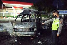 Detik-detik Pikap Pengangkut Tabung Gas Terbakar dan Meledak di SPBU