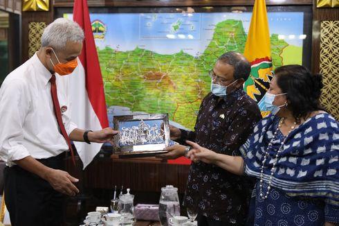 Terima Kunjungan Dubes India, Ganjar Diskusikan Peluang Investasi di Kawasan Industri Batang