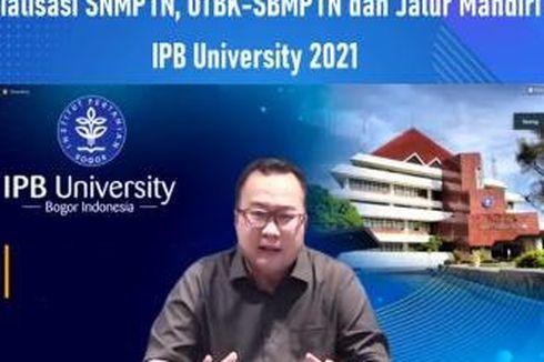 IPB Jaring 4.250 Mahasiswa Baru 2021, Berikut Enam Jalur Seleksinya