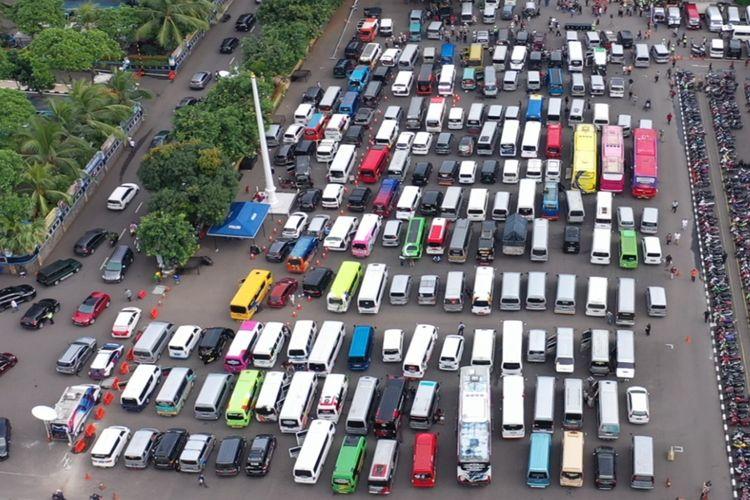 Polda Metro Jaya berhasil amankan ratusam travel gelap
