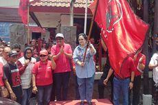 Megawati Lepas 10 Truk Bantuan PDI-P untuk Korban Bencana Sulteng