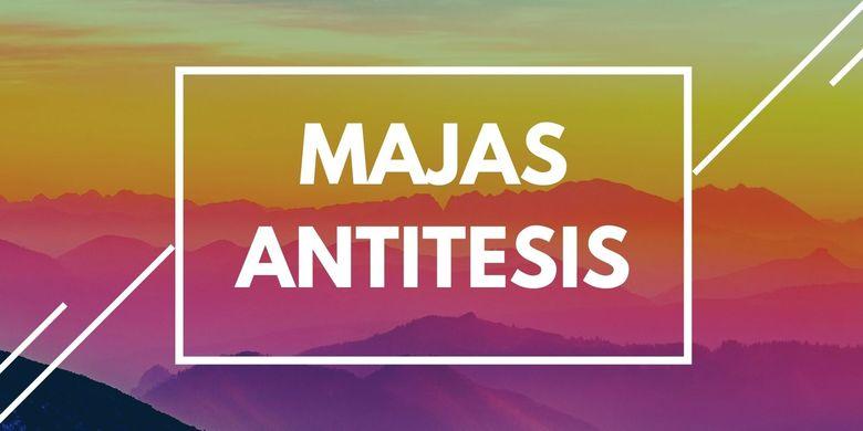 Contoh Majas Antitesis