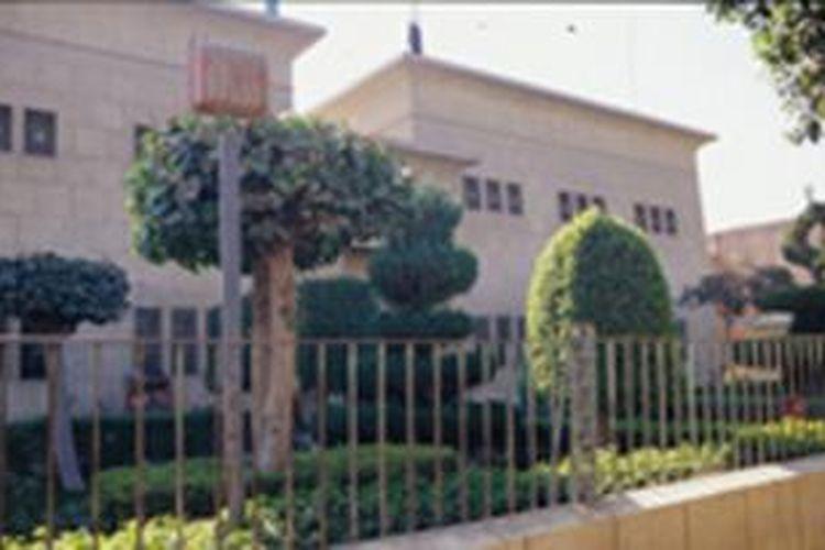 Inilah museum nasional Malawi di kota Minya, Mesir yang dijarah dan dirusak sekelompok orang,