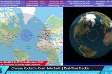Cara Melihat Lokasi Jatuhnya Roket China Long March 5B secara Online