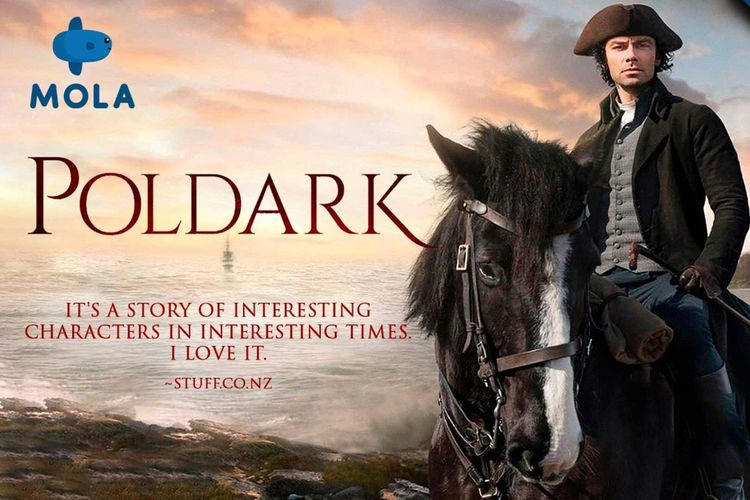 Serial drama klasik Britania Raya, Poldark, sukses bikin penonton penasaran.